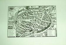 Biberach: alte Ansicht Merian Druck aus 1940 Bannstadt