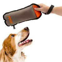 Petdom Pet Dog Toy Squeaker Chew Fetch Toss Throw Durable Oxford Fabric Strap