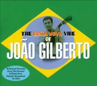 JOAO GILBERTO - THE BOSSA NOVA VIBE OF JOAO GILBERTO USED - VERY GOOD CD