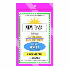 KIT of 12 NEW DAY KAO NOSE PORE STRIPS - EVERYDAY-STRENGTH (WHITE) - BLACKHEADS