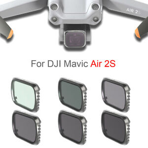 Drone Camera Accessories Lens Filter UV CPL ND34 ND32 for DJI MAVIC AIR 2S Drone