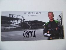 CARD SPA  24 HOURS 2018 : BLACK FALCON AMG MERCEDES BENZ #6 / HUBERT HAUBT