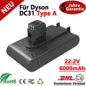 6000mAh Li-Ion Ersatzakku Für Dyson DC31 Type A  Vakuum DC34 DC44 DC35 Animal