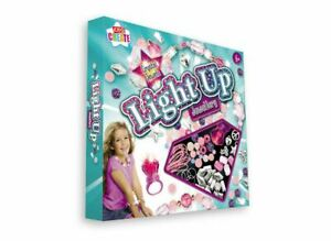Crystal Jewels Light Up Jewelry Making Set With Arts & Crafts Design For Kids