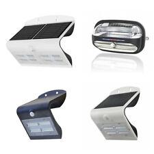 Solar Powered PIR Motion Sensor Lights Outdoor Garden Security Wall Lights