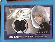 MARVEL X-MEN MOVIE Halle Berry STORM COSTUME RELIC SWATCH MOVIE MEMORABILIA CARD