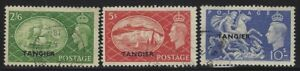 Great Britain-Tangier 1950 George VI high values Sc# 556-58 used
