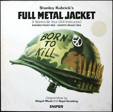 BO FILM FULL METAL JACKET STANLEY KUBRICK 33T LP WB RECORDS 920.787