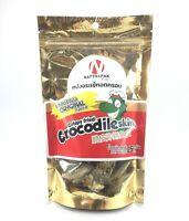 Crispy Fried crocodile skin Thai Snack Delicious Food Brand New 25 g