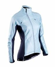 Sugoi RSE Alpha Bike Jacket Womens Medium Ice Blue Cycling NEW