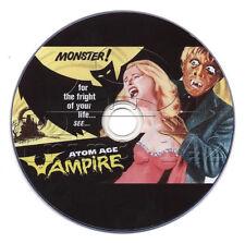 Atom Age Vampire (1960) Horror / Sci-Fi Movie on DVD