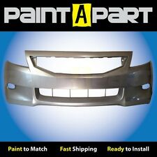 2008 2009 2010 Honda Accord Coupe Front Bumper Painted NH700M Alabaster Silver