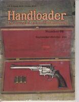 HANDLOADER MAGAZINE Sept Oct 1992 -VINTAGE Bullet Gun Mag , Big Max ad