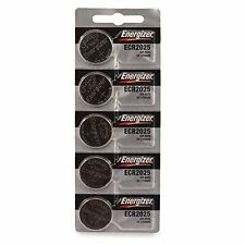 5 x Energizer CR2025, 2025 Lithium Batteries