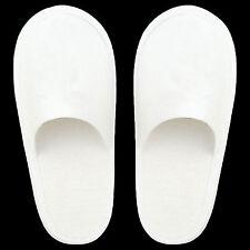 1 Paar Hotelslipper Gästehausschuhe Pantoffeln  Slipper geschlossen Einweg weiss