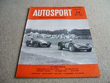 Autosport 3rd Septembre 1954 * Liège Rome Liège Rally *