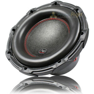 "Audiopipe 10"" Subwoofer Dual 4 Ohm 1200 Watts Max Power Sub TXX-BDC2-10 Single"