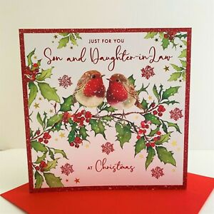 Nigel Quiney Just For You Son And Daughter In Law Christmas Card/LPZGX12