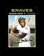 1971 Topps #717 Tommie Aaron Atlanta Braves SP High Grade