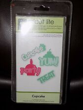 Cricut Lite - Cupcake Cartridge. Free Shipping IN USA LAST ONE BRAND NEW