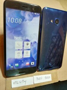 TELEPHONE PORTABLE FACTICE dummy smartphone N°B63-D : HTC U play bleu