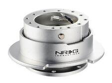 NRG Steering Wheel Quick Release Gen 2.5 SIlver Color