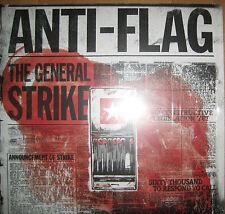 "12"" Vinyl LP Anti-Flag – The General Strike ---- Oi Punk Black Rancid The Clash"