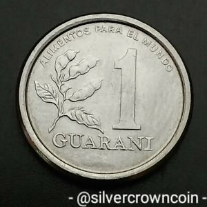 Paraguay 1 Guarani 1978. F.A.O. KM#165. One Dollar coin. Tobacco Plant.