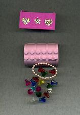 Lego--x516- Container/Kiste--Pink-x517 -Deckel- Mit Inhalt --Schloss--Ersatzteil