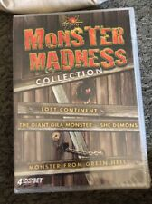 Monster Madness Collection (Lost Continent/The Giant Gila Monster/She Demons New
