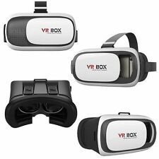 VR BOX OCCHIALI REALTA' VIRTUALE 3D PER IPHONE SAMSUNG GIOCHI VIDEO FILM 360° -_