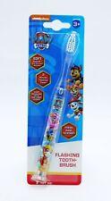 Childrens Paw Patrol Light Up Flashing Toothbrush Soft Tooth Brush 3+ Kids Teeth