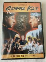 Cobra Kai SEASONS 1 & 2 (DVD Set) The Karate Kid Saga Continues READ**SEALED NEW
