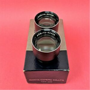 Mamiya TLR 135mm Lens Replacement Optics