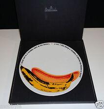 "Rosenthal Andy Warhol "" Wandteller Banana ""  24 cm Neu & Ovp 1.Wahl"