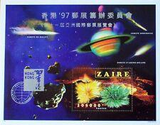 ZAIRE 1997 HONG KONG OVERPRINT PART 2 MINT STAMP SHEET