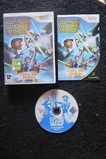 WII : STAR WARS THE CLONE WARS : L'ERA DEI DUELLI - Completo, ITA ! Comp Wii U