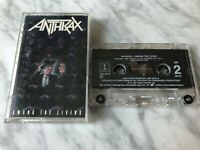 Anthrax Among The Living Cassette Tape 1987 Island US PRESS VERY RARE! Megadeth