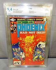 WHAT IF? #27 Phoenix Had Not Died (White Pg) CBCS 9.4 NM 1981 Marvel Comics cgc