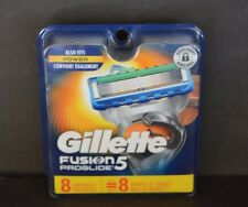 GILLETTE FUSION PROGLIDE 5, ( 8 CARTEIDGES) ALSO FITS POWER