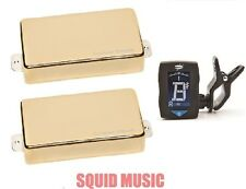 Seymour Duncan Blackouts AHB-1s Gold Active Set ( FREE DUNLOP GUITAR TUNER )