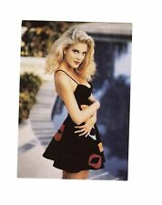 Tori Spelling-signed photo-post card-5