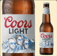 Jonas Brothers Coors Light Limited Edition Beer Bottle Empty (1)