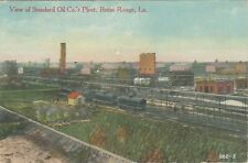 Baton Rouge LA -- View of Standard Oil Co.'s Plant -- 1913 Memphis & N.O. RPO