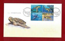 2002 Cocos Keeling Islands Turtles Set SG 393/6 FDC or fine used