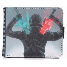 Sword Art Online SAO Kirito Short Bifold Anime Wallet Card Holder Purse