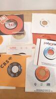 Lot of 10 Vinyl Records 45 RPM Eddy Grant, Joe Jackson, Billy Idol, Flashdance