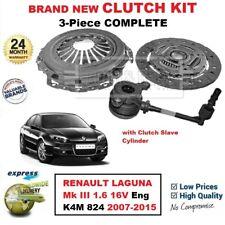 Pour Renault Laguna III 1.6 16V Moteur K4M 824 2007-2015 Neuf 3PC Kit Embrayage