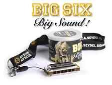 C.A. Seydel Söhne Big Six Blues Classic C Mundharmonika NEU
