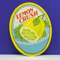 PAPER EPHEMERA COLLECTIBLE label soda pop advertising vintage vtg antique scrapbooking stationary Pioneer lime nectar davenport washington